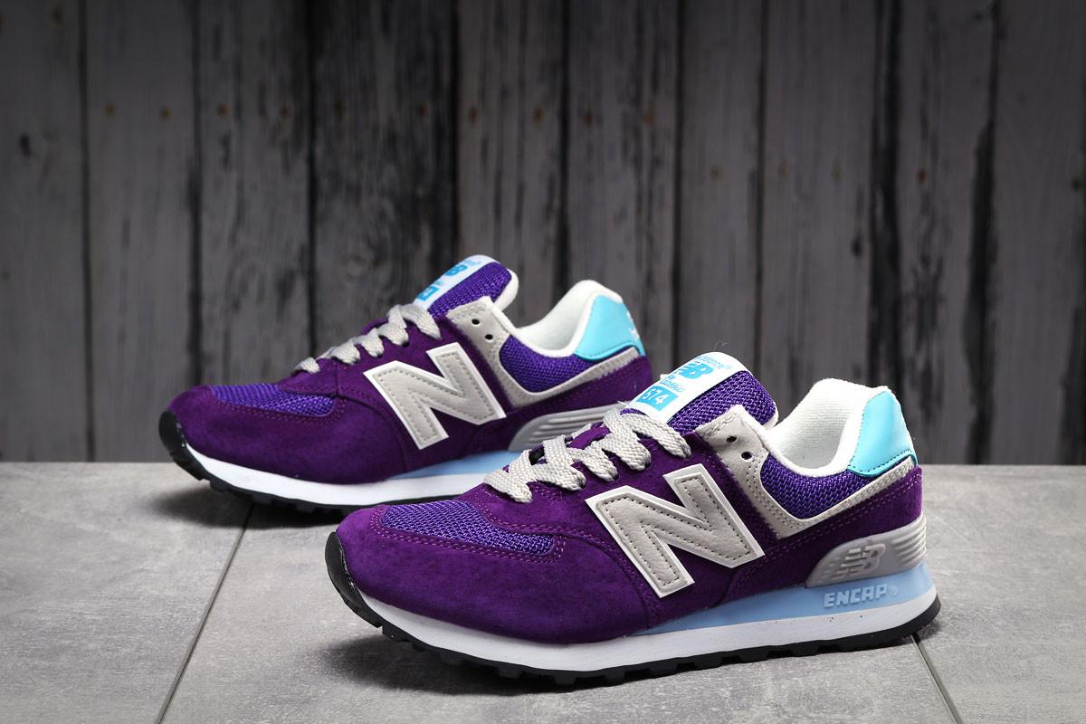 Кроссовки женские New Balance  574 фиолетовые