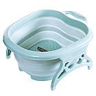 Складная массажная ванночка для ног | Массажер-ванна роликовая, фото 2