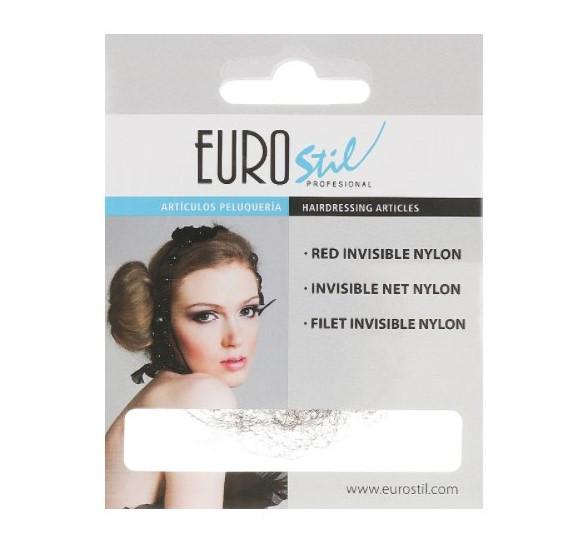 Eurostil Сеточка для волос темно-коричневая 01049/67 большая Dark brown