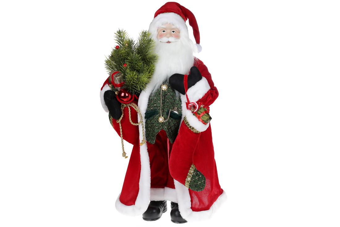 Мягкая игрушка Санта 60см, цвет - красный (845-229)