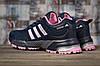 Кроссовки женские Adidas Marathon Tn темно-синие , фото 4