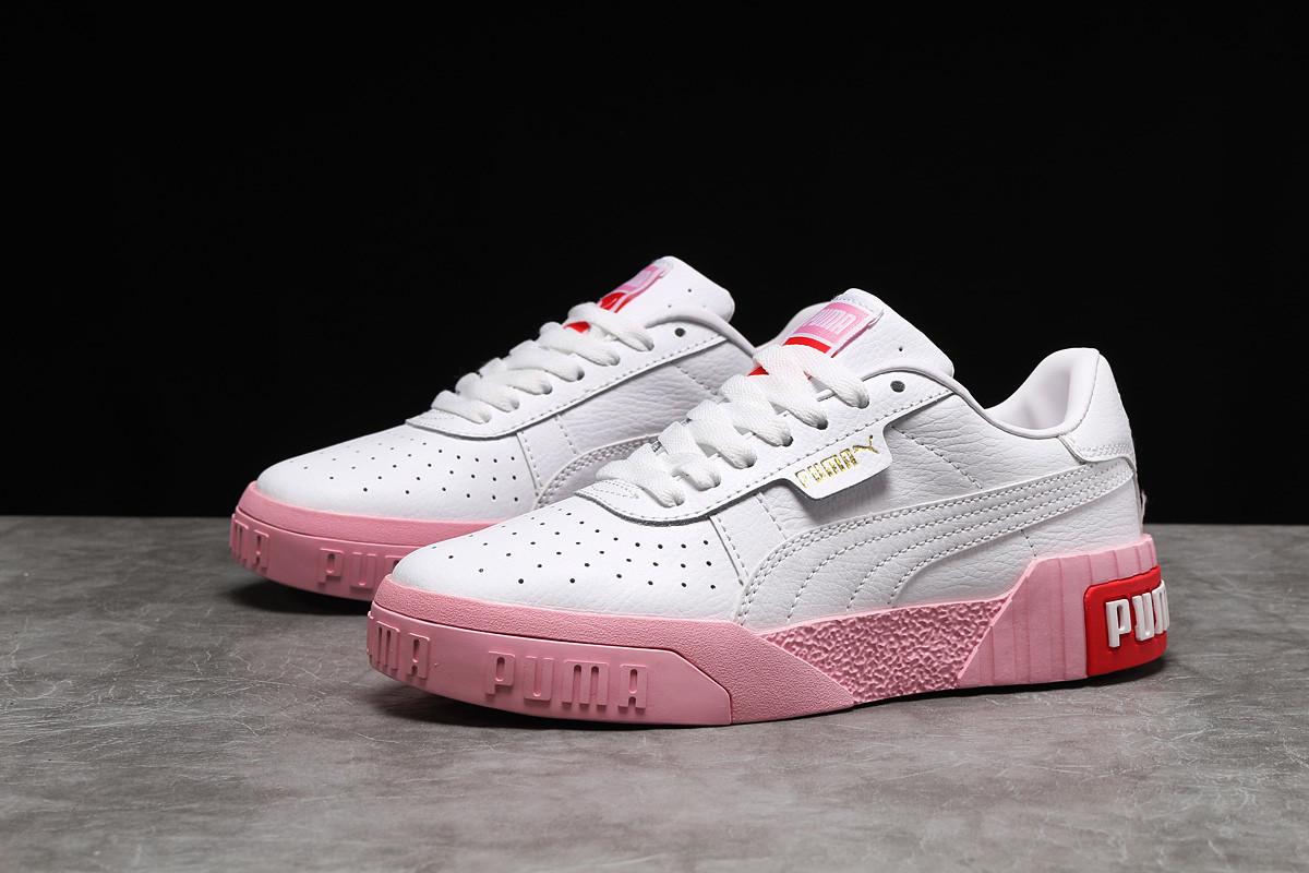 Кроссовки женские Puma Cali Sport белые