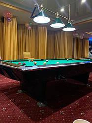 Стол бильярдный Динамик-II 9ф Б/У американка (турнирный)