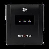 ИБП LogicPower LPM-U850VA-P, Lin.int., AVR, 2 х евро, USB, LED, пластик