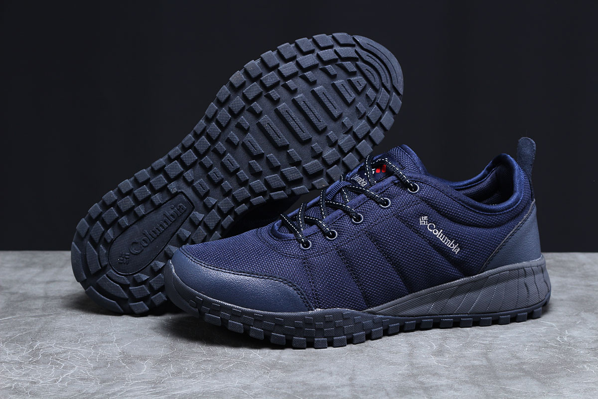 Кроссовки мужские Columbia темно-синие