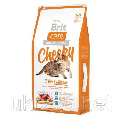 Сухий корм Бріт Кеа Кет Чікі для котів, що живуть на вулиці з олениною, 7 кг, 132612