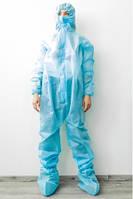 Комбинезон одноразовый нестерильный голубой - 03604