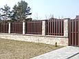 Забор из металлического штакетника, фото 8