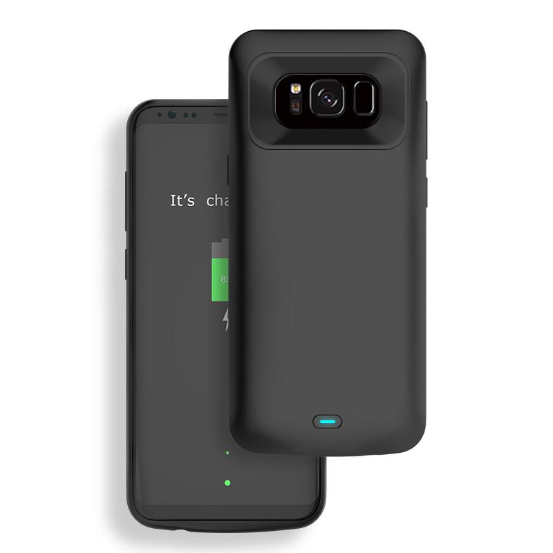 Чехол-аккумулятор XON PowerCase XE для Samsung S8 5000 mAh Black