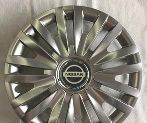Колпаки Nissan R15 (Комплект 4шт) SJS 313