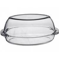 Утятница Borcam 1.7л с крышкой 2.5л, жаропрочное стекло
