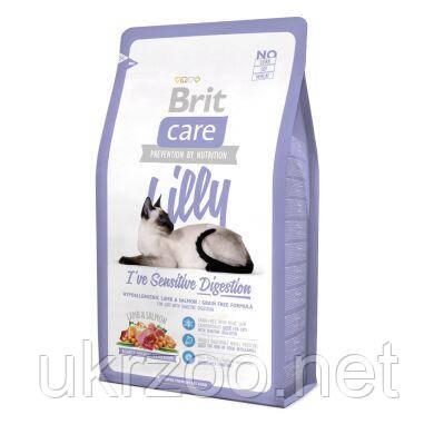 Сухий корм Бріт Кеа Кет Лілі для котів з чутливим травленням з ягнятиною, 2 кг, 132616