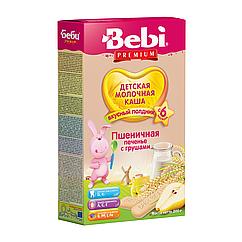 Молочна каша Bebi Premium Пшенична Печиво з грушами, 6+, 200г