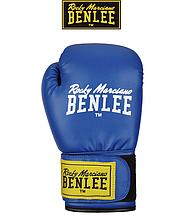 Боксерские перчатки тренировочные Benlee RODNEY 14oz, PU, сине-черные