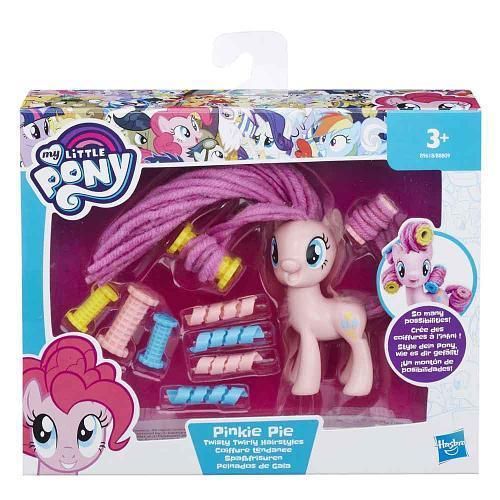 """Игровой набор Hasbro My Little Pony """"Пони с праздничными прическами"""" - Пинки Пай 7.5 см"""