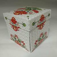 Подарочная упаковка для чашки с Петриковским орнаментом