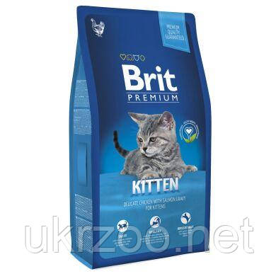 Сухий корм Бріт Преміум, для кошенят з куркою, 8 кг, 170354