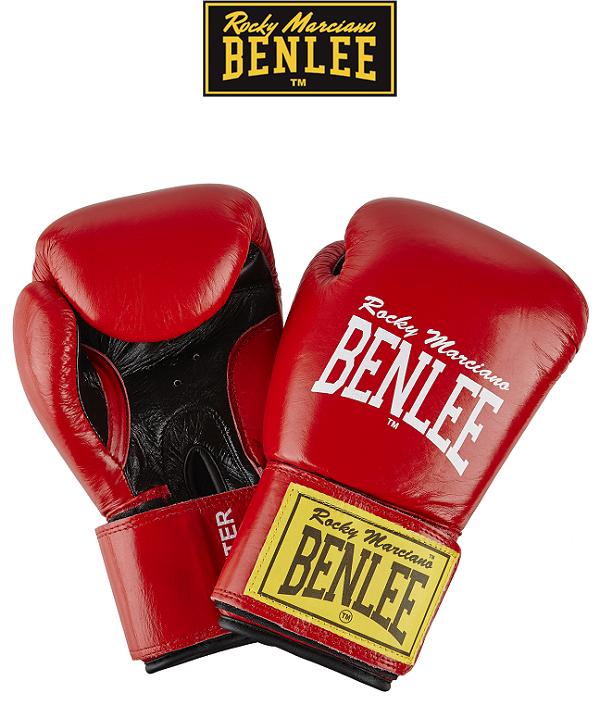 Боксерські рукавички BENLEE FIGHTER (red/blk)