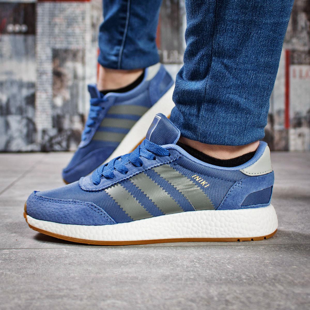 Кроссовки женские Adidas Iniki синие