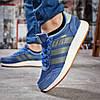Кроссовки женские Adidas Iniki синие , фото 4