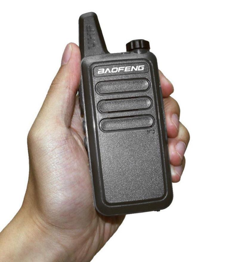 Рация BAOFENG BF-R5 / T7 400-470 МГц . 16 каналов, micro USB зарядка
