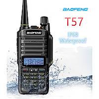 Влагозащищенная рация Baofeng BF-A58 (Baofeng Т57), IP67 5Вт + гарнитура, частоты(136 174 МГц) и (400-520 МГц)