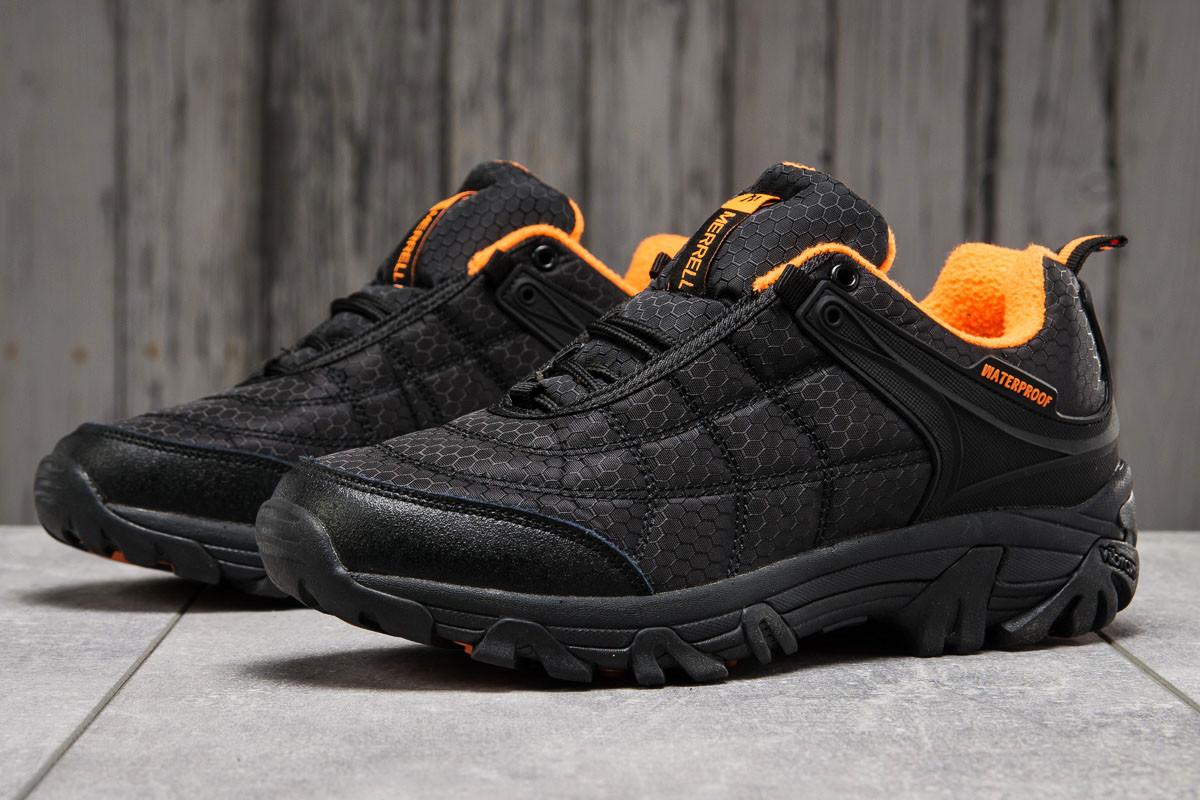 Зимние мужские кроссовки Merrell Vibram черные  45