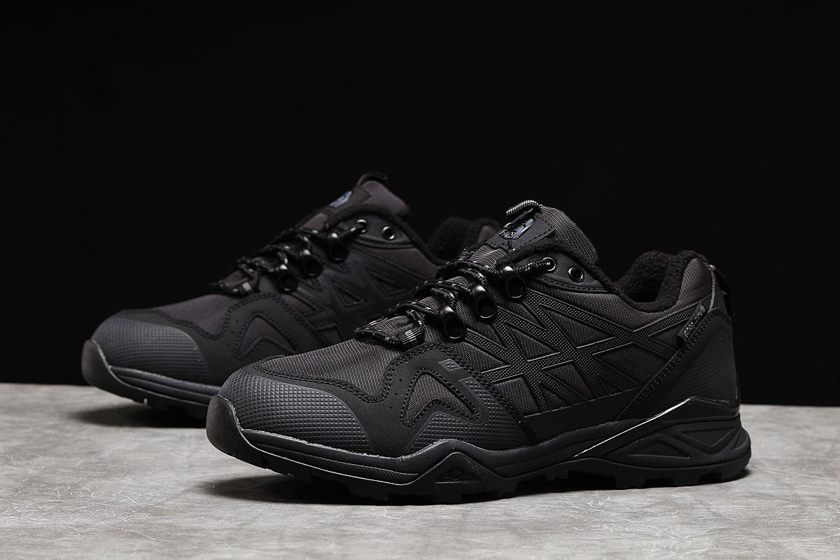 Зимние мужские кроссовки The North Face Gore-Tex черные