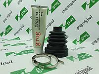 Пыльник шруса внутренего правого под трёхшиповик+хомут +смазка grog Логан, фото 1