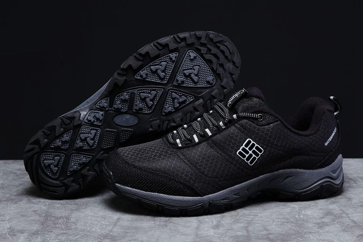 Зимние мужские кроссовки Columbia Waterproof черные