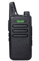 Рація, радіостанція WLN KD-C1 портативна рація в UHF діапазоні 400-470 MH Рація радіостанція (Zastone ZT X6)