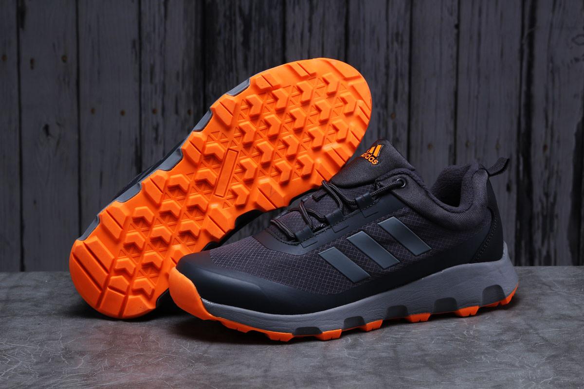 Зимние мужские кроссовки Adidas Terrex Climaproof темно-серые
