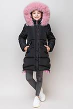Зимова курточка для дівчинки ZKD-19