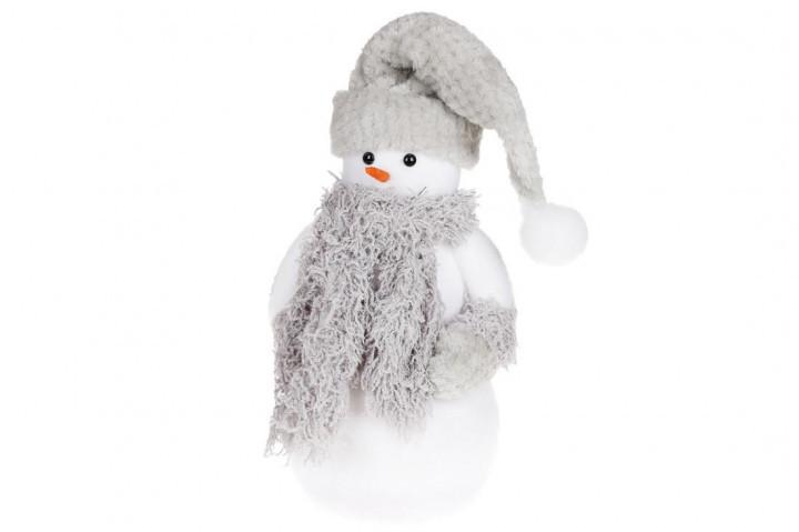 Новогодняя декоративная фигура Снеговик 45см BonaDi NY27-752
