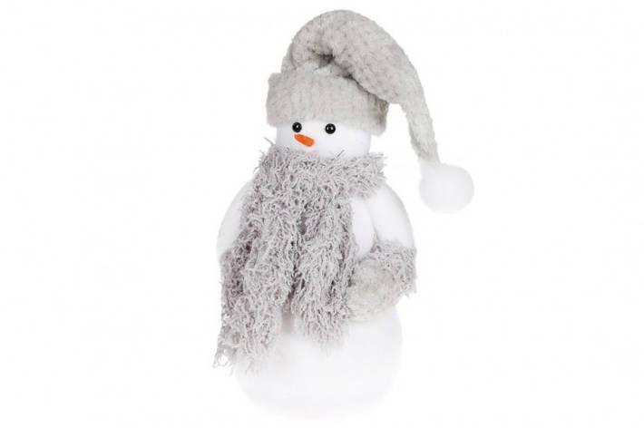 Новогодняя декоративная фигура Снеговик 45см BonaDi NY27-752, фото 2