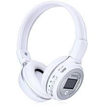 Bluetooth наушники Zealot B570 Белый+Серый