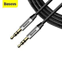 Аудио кабель AUX Baseus Yiven M30 (1.5 метра) черный, фото 2