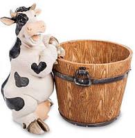 Корова с кадушкой Кашпо 38 см Sealmark