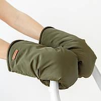 Муфты- варежки для коляски, хаки, фото 1