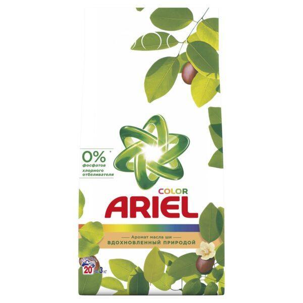 Стиральный порошок Ariel Масло Ши 3 кг