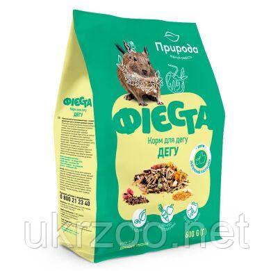 Корм Природа Фієста Дегу для гризунів  0.6 кг PR241378