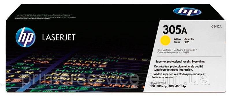 Картридж HP CE412A (305A) Yellow для HP LJ Pro M351, M375, M451, M475 series