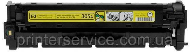 Оригинальный картридж CE412A (305A Yellow) для HP Pro M351, M375, M451, M475