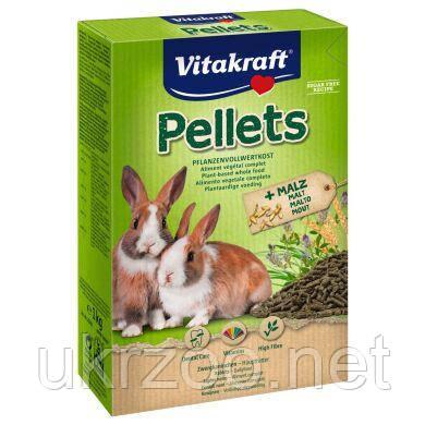 Корм Вітакрафт Пелетс, для декоративних кроликів, 1 кг,  25246