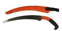 Ножовка садовая с ножнами 300 мм, 6TPI, каленый зуб, 3-D заточка MASTERTOOL 14-6016