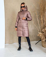 Куртка-пальто мод.246 (плащівка+синтепон 300), фото 7