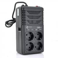 Стабілізатор Ritar 800VA, 480W, 4SHUKO (CUBE-4) (CUBE-4)