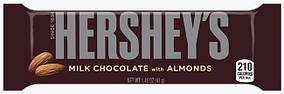 Молочний шоколадHERSHEY'S з мигдалем 41г