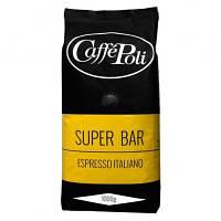 Кофе в зернах Caffe Poli Superbar 1 кг Италия 90% арабика