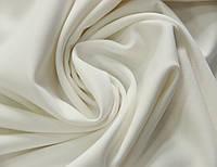 Костюмная ткань итальянская белого молочного цвета поливискоза однотонная MI 51, фото 1